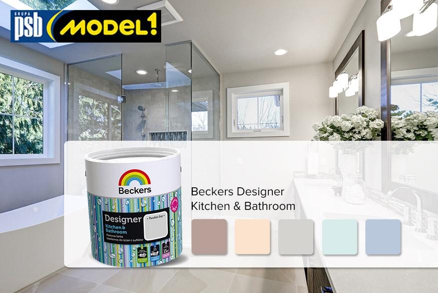 Najmodniejsze kolory ścian w łazience